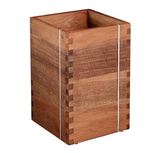 Besteck-Box, Einheimischer Nussbaum