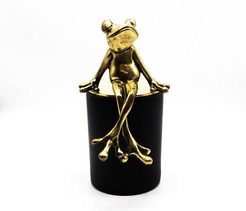 Frog candle