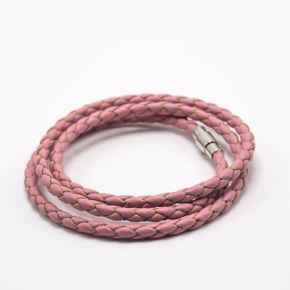 LWW-PI4MM#58-Woven Pink