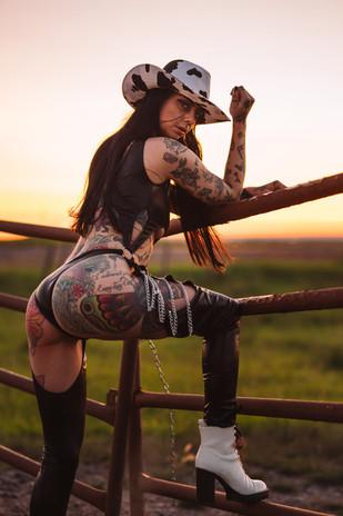 Out riding fences Alexa.