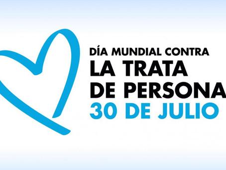 Día Mundial contra la Trata de Personas: 30 de Julio