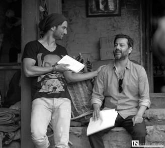 Sushant Singh Rajput & Abhishek Kapoor   Kedarnath Movie   Bollywood Actor & Director  Photo by: Nitesh Square