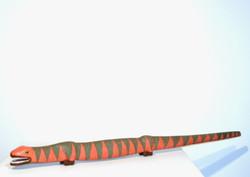 Lizard Walking Stick