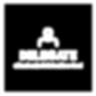 Delegate_Logo_Vertical_Square_White_Outl