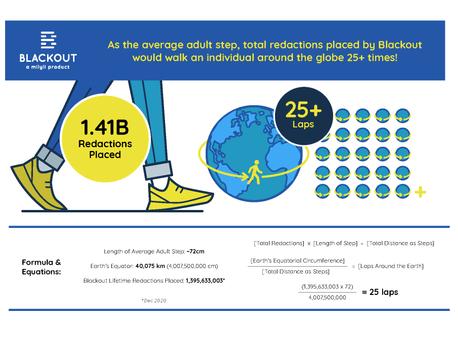 Blackout Lifetime Redaction Usage Infographics