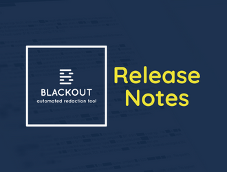 Blackout 4.1 Release Notes