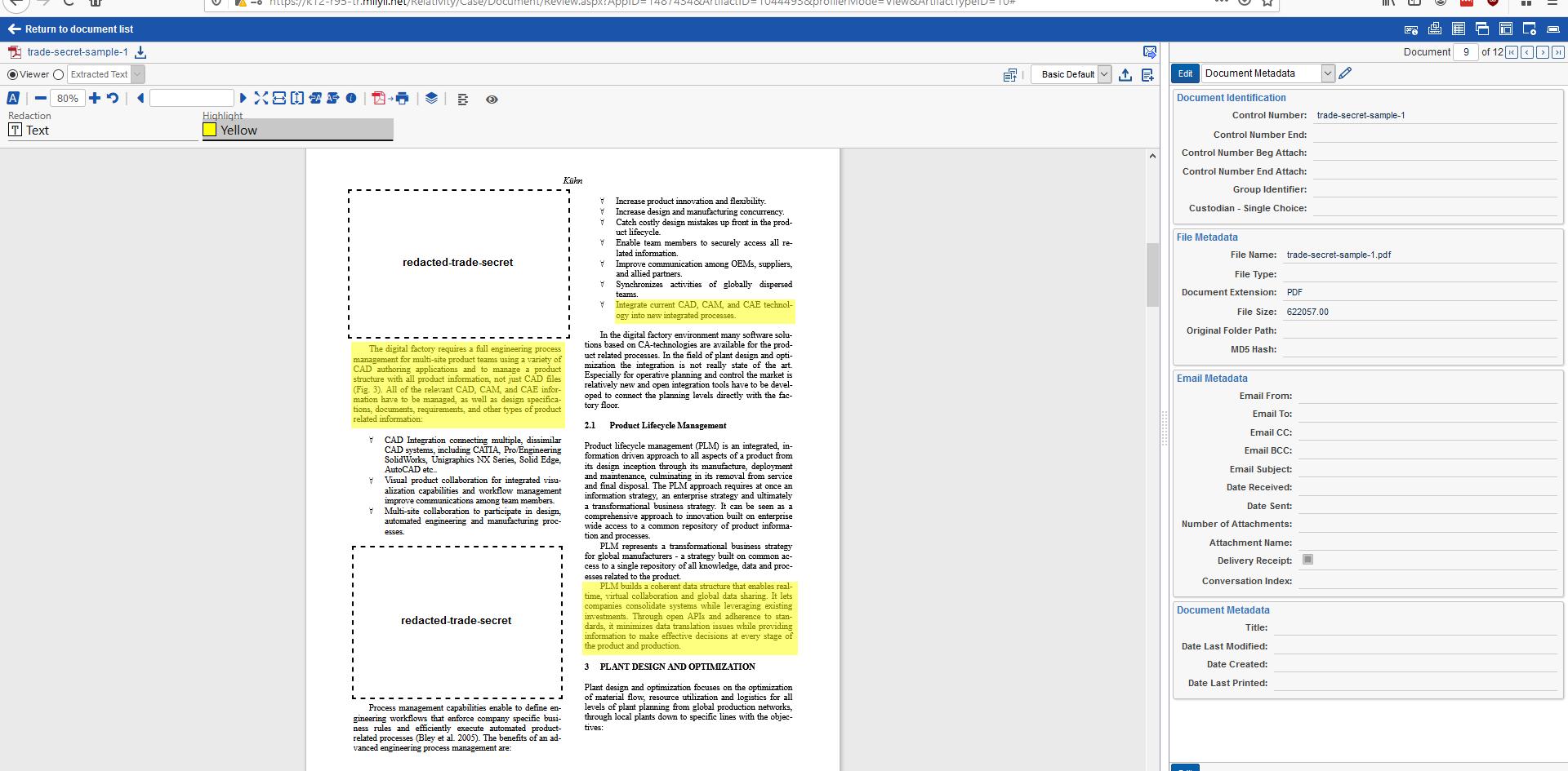 Blackout Redacts Native PDF FIles