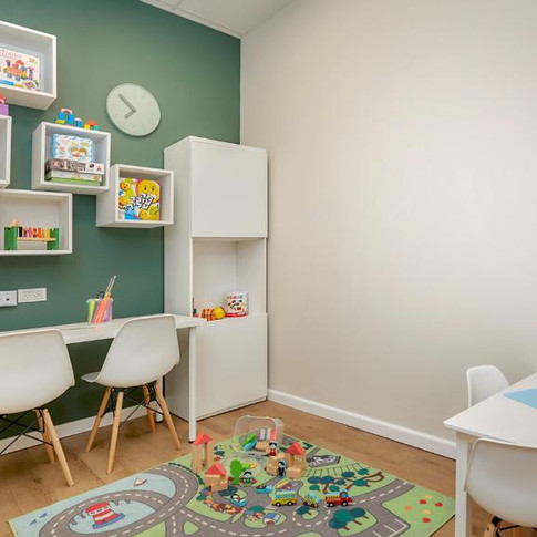 עיצוב חדר טיפול ילדים