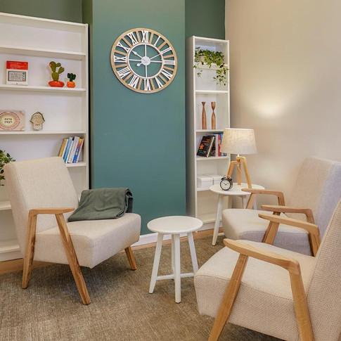 עיצוב חדר טיפול זוגי