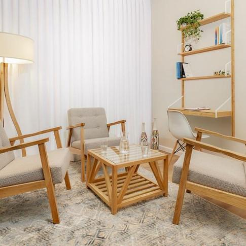 עיצוב חדר טיפול ריגשי