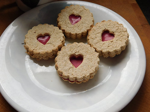 Jammie Dodger biscuits for dogs