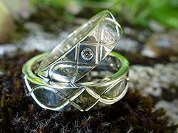 Alliances Argent - Diamant