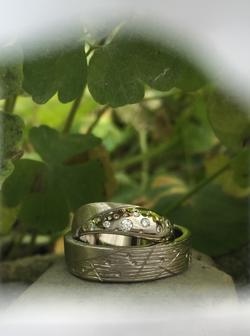 Or gris - Diamants