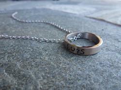 Pendentif anneaux
