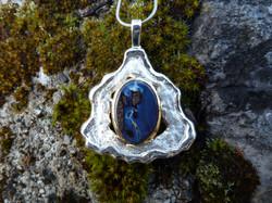 Pendentif Argent - Opale