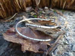 Bracelet Argent noirci