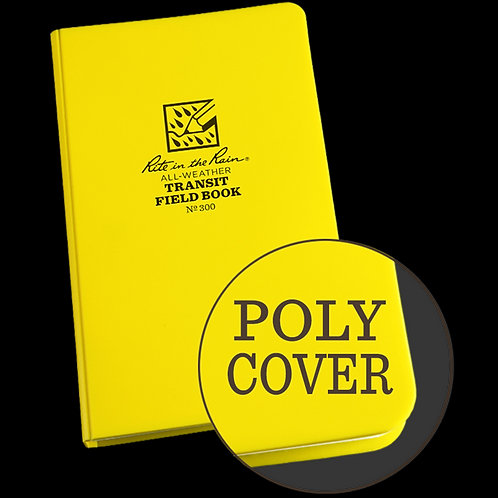 Rite in the Rain Polydura Notebook - Transit