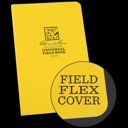Rite in the Rain Side-Bound Field Flex Notebook - Universal Large