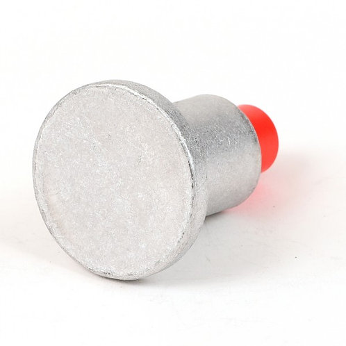 "Aluminum Cap for 5/8"" Rebar W/ Plastic Insert - Select Sizes"