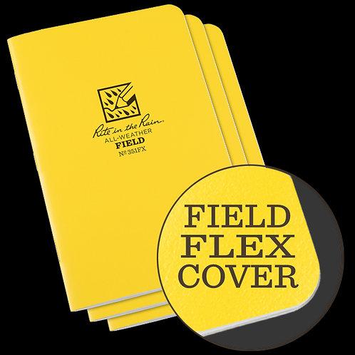 Rite in the Rain Staple-Bound Notebook - Field