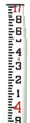 Seco SVR Oval Fiberglass Leveling Rod - Tenths (10ths) 17', 25'