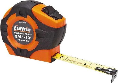 Lufkin Hi-Viz Pocket Tapes 13ft/4m, 25ft/7.6m, 33ft/10m - Tenths & Metric