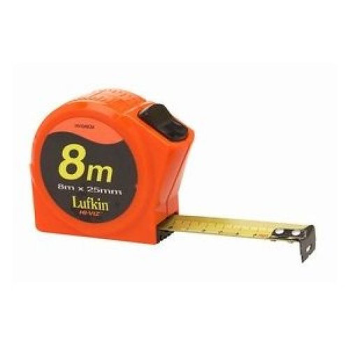 Lufkin Hi-Viz Pocket Tape 8m - Metric