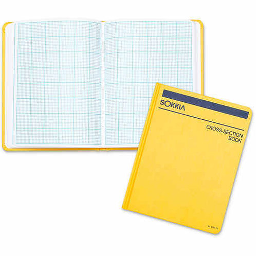 Sokkia Side-Bound Cross Section Notebook