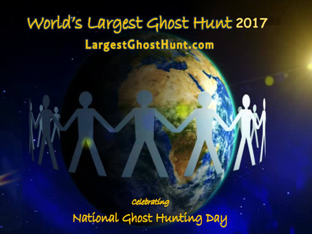 """Collective Consciousness During the """"World's Largest Ghost Hunt?"""""""