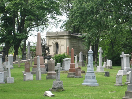 An Intuitively-Driven Cemetery Visit?