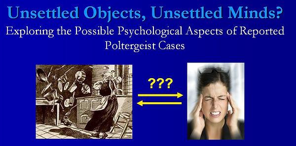 ParaMOOC 2020 Poltergeist Psychology Pro