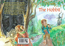 Cover design for The Hobbit by JRR Tolkien