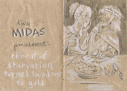 La punition du roi Midas
