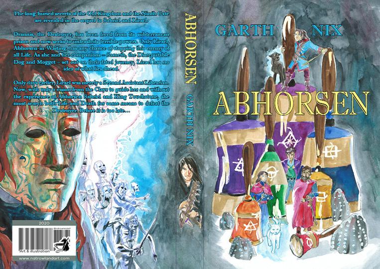 Couverture complète Abhorsen