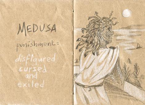 Punition de Méduse
