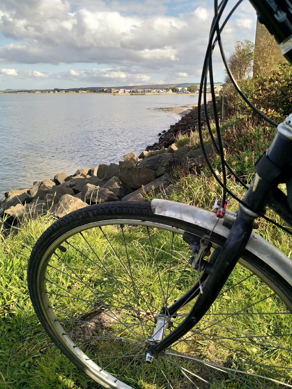 Even an old bike can help broaden horizons.