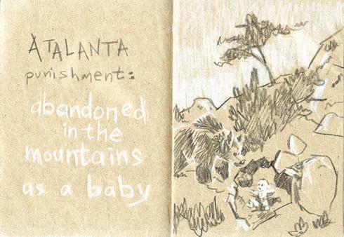 La punition d'Atalanta