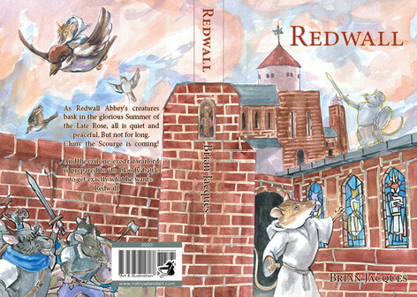 Cover Design for Redwall by Brian Jacques