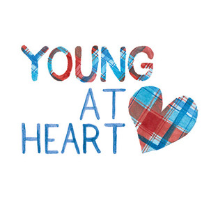 One of the Birthday Card designs for Chest Heart and Stroke Scotland