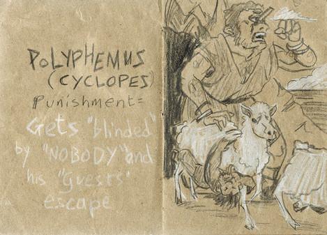Polyphemus's Punishment