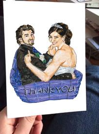 Zoe et Liam disent Merci