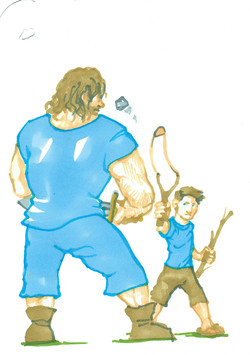 24 David and Goliath