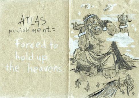 La punition d'Atlas