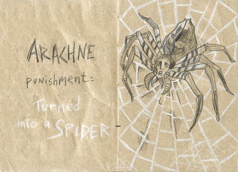 La punition d'Arachne