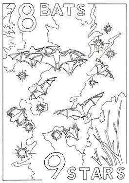 8 Bats and 9 Stars