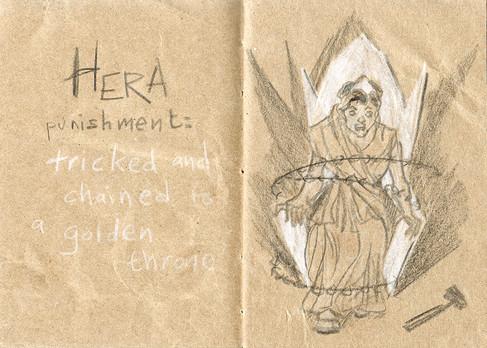 La punition d'Héra