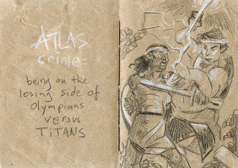 Le crime d'Atlas