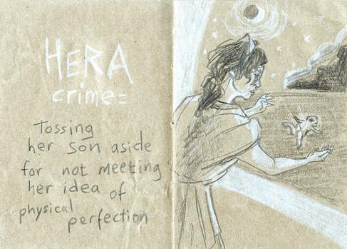 Le crime d'Héra