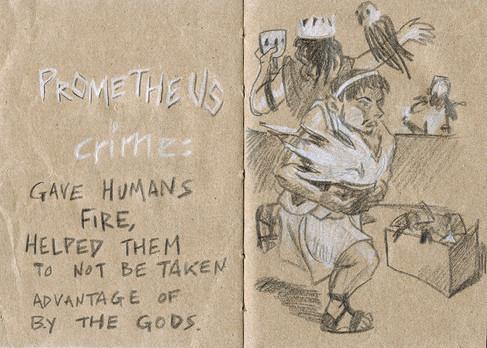Prometheus's Crime