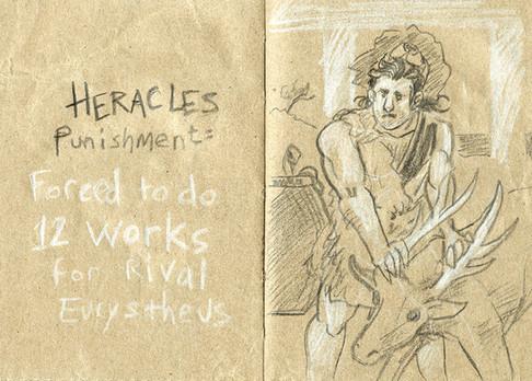 La punition d'Héraclès